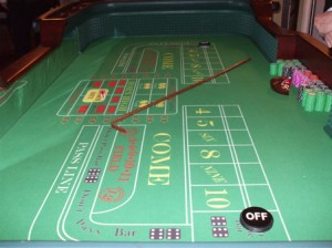 Winning at craps probability